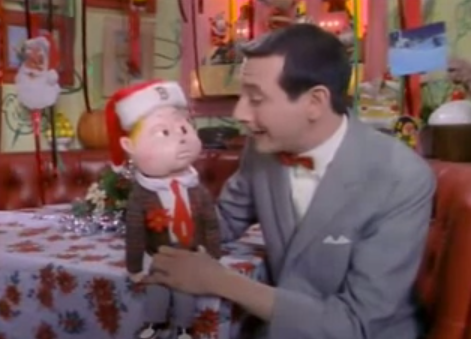 "Day 9: ""Pee-wee's Christmas Special,"" Pee-wee's Playhouse (1988 ..."