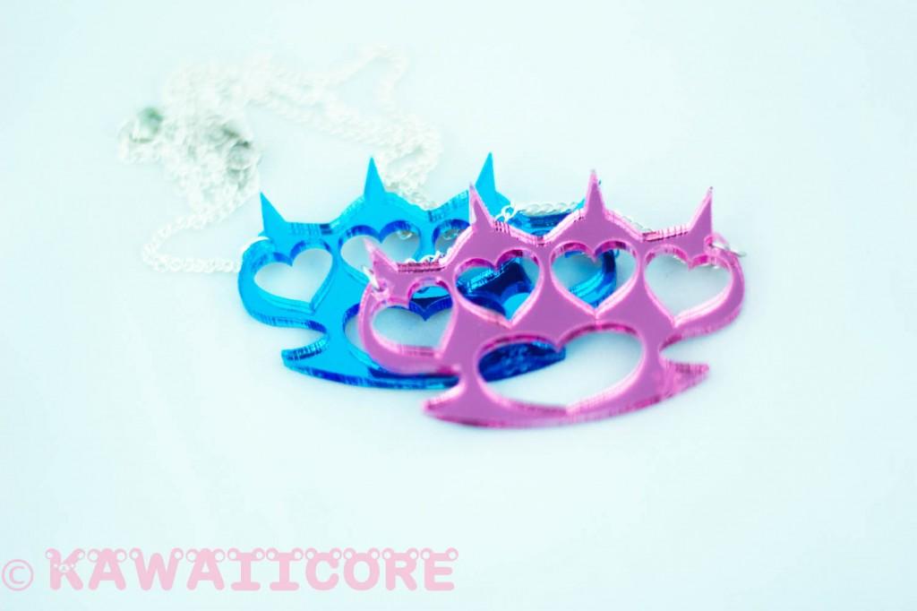 Kawaiicore Knuckle Dusters