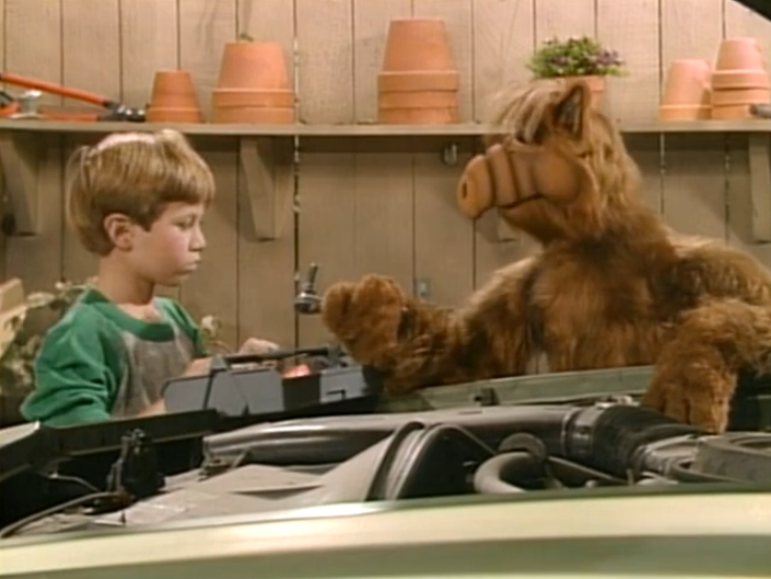 "ALF, ""Baby, You Can Drive My Car"""