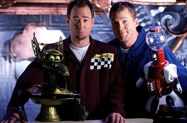 Joel Hodgson and Mike Nelson
