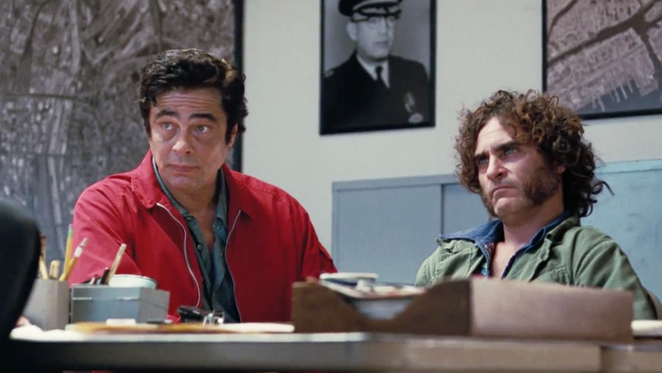 Inherent Vice, Sauncho and Doc