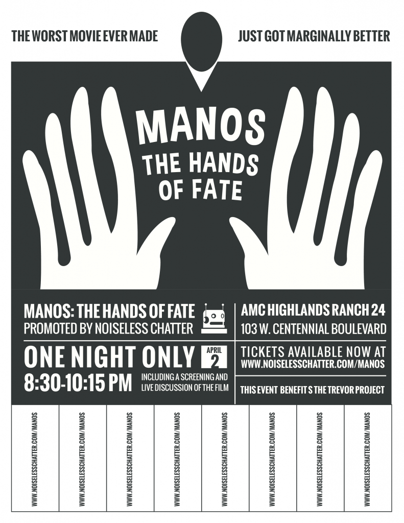 """Manos"" The Hands of Fate, Live!"