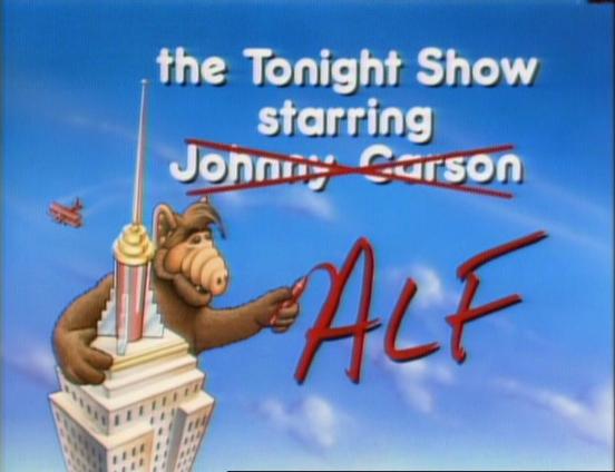 """ALF, """"Tonight, Tonight (Part 1)"""""""