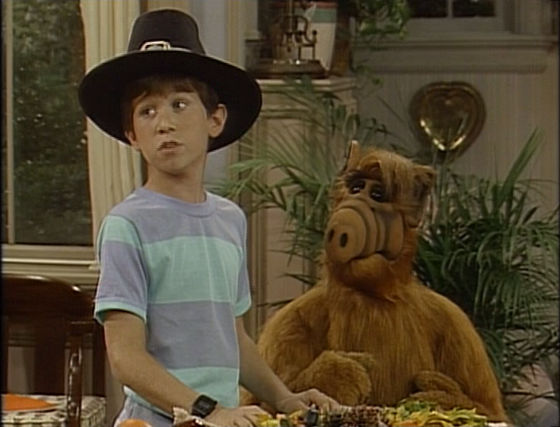 alf turkey in the straw part - Alf Halloween Episode