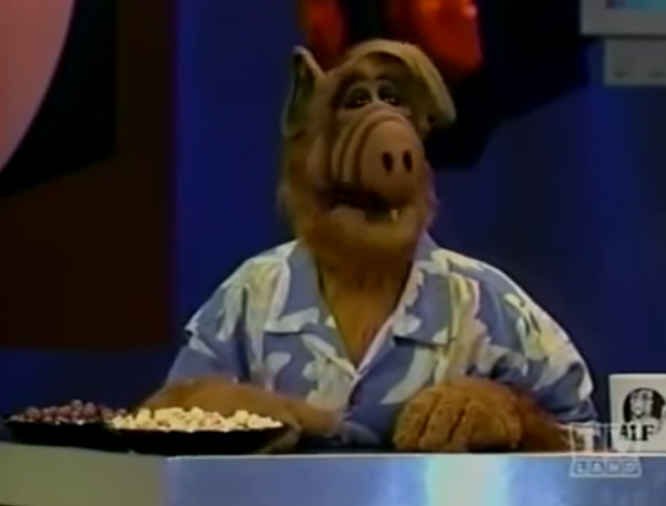 ALF Offers Day Old Snacks to Famous Celebrities