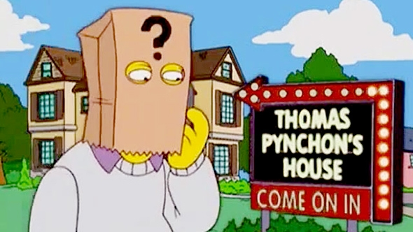 The Simpsons, Thomas Pynchon