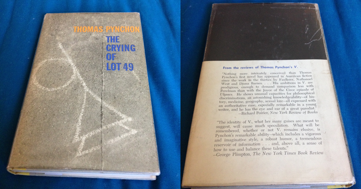 The Crying of Lot 49, Thomas Pynchon