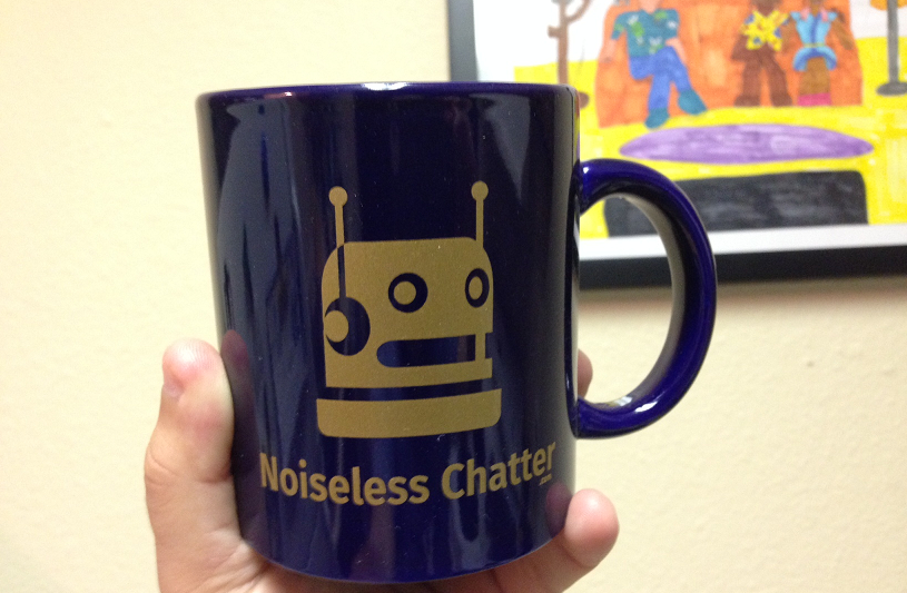 Noiseless Chatter Incredimug
