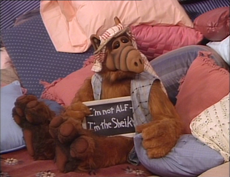 ALF Reviews: Like an Old Time Movie (season 3, episode
