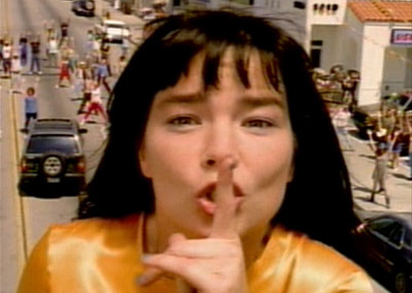 "Bjork, ""It's Oh So Quiet"""