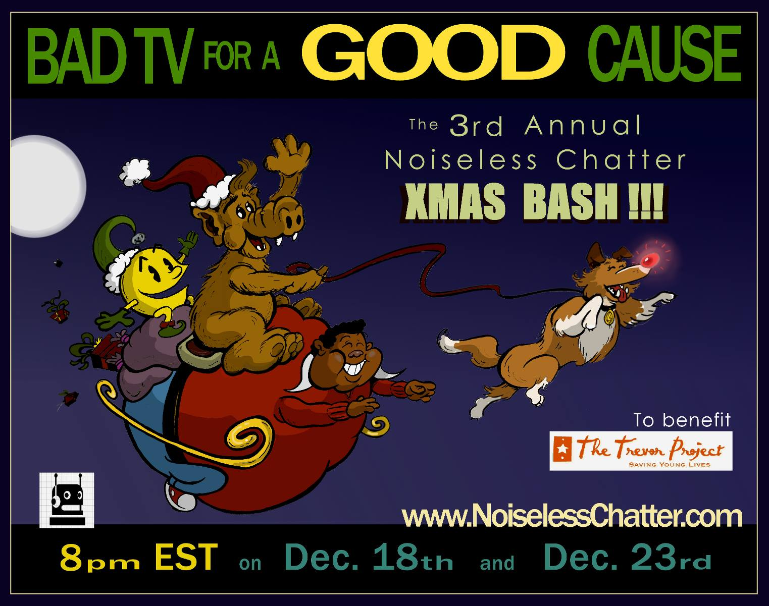 The 3rd Annual Noiseless Chatter Xmas Bash!!!