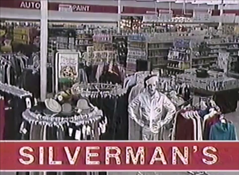Vintage Silverman's ad