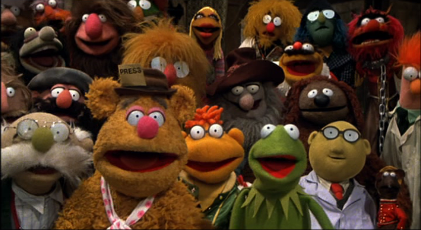 Rule of Three:  The Great Muppet Caper (1981)
