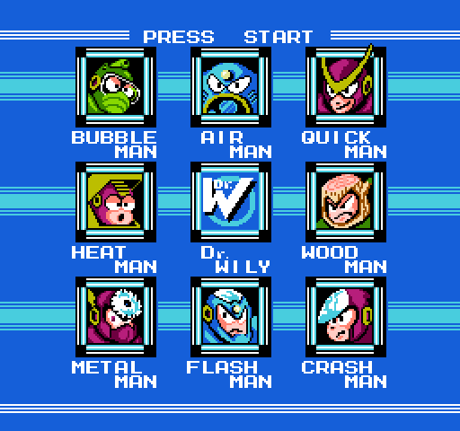 Fight, Megaman! (Mega Man 2, 1989)