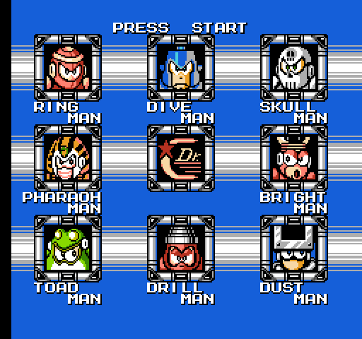 Fight, Megaman! (Mega Man 4, 1991)