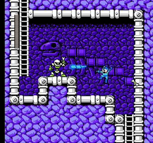 Fight, Megaman! (Mega Man 4, 1991) - Noiseless Chatter