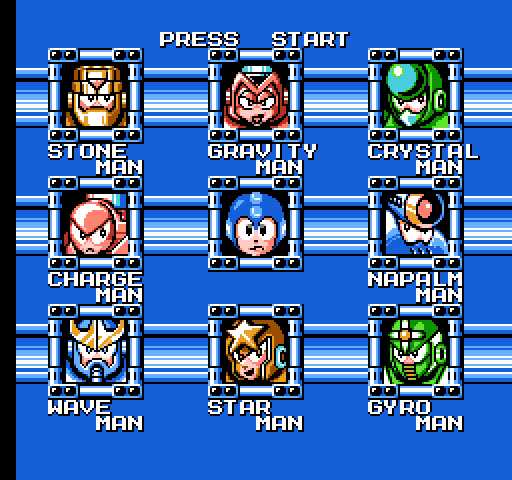 Fight, Megaman! (Mega Man 5, 1992)