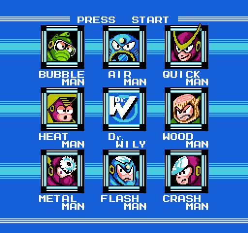 Fight, Megaman! (Mega Man 2, 1989)