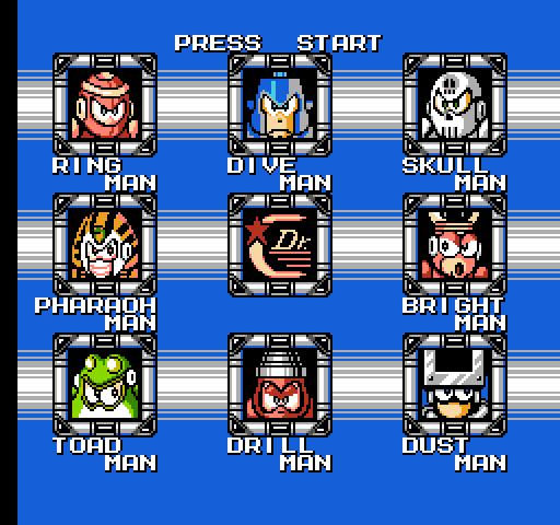 Fight, Megaman! (Mega Man 4, 1991)